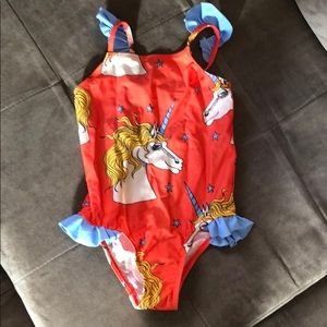 Mini Rodini one piece bathing suit size 2T